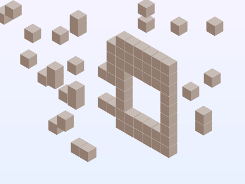 Isometric duck